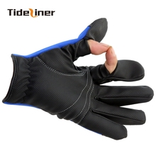 High Quality Men Winter Fly carp spinning feeder Fishing Gloves gloves Luva Pesca Guantes Outdoor Photography Gloves