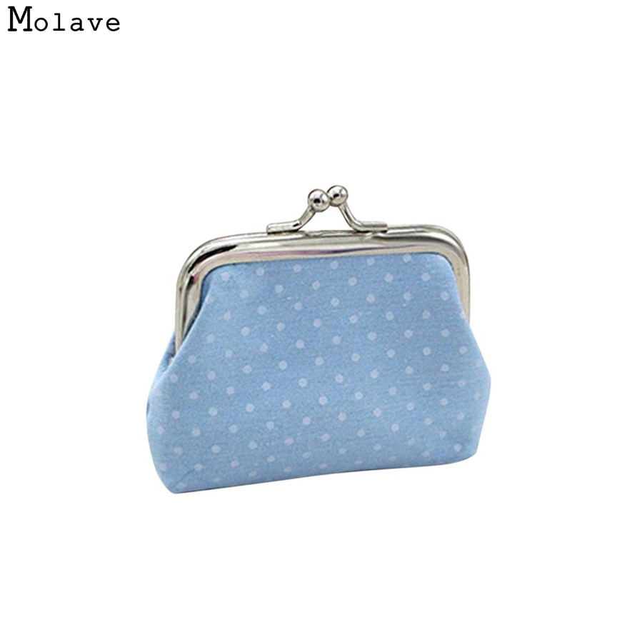 Naivety Coin Purse New Women Dot Patten Mini Wallet Holder Clutch Handbag Bag Good For Gift JUL28 drop shipping
