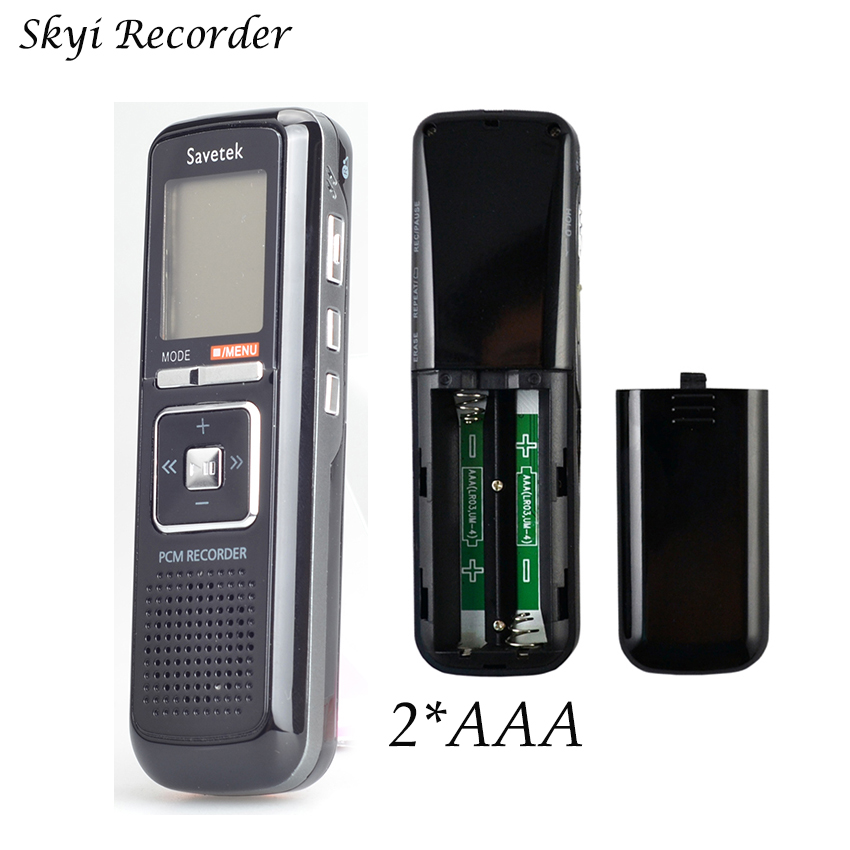 3 in 1 8GB Sound Senser Digital Voice Recorder 650hrs Professional Audio Recorder Pen Microphone USB Flash Drive WAV Dictaphone