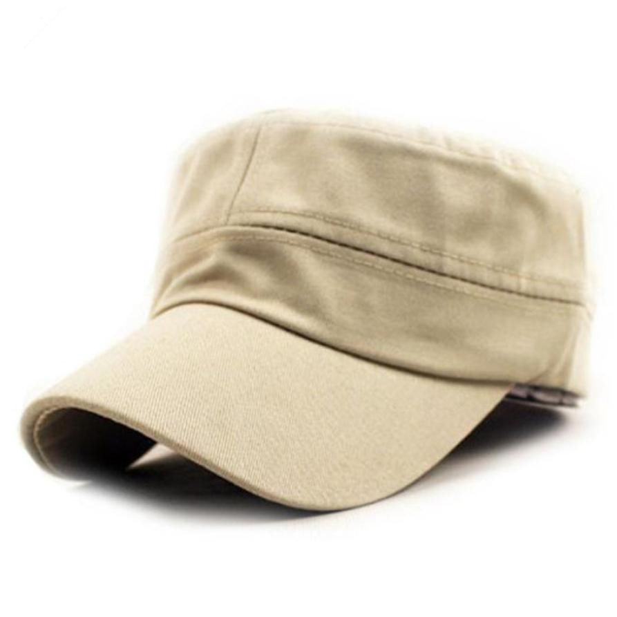 Summer Baseball Cap Plain Vintage Classic Plain Vintage Army Cadet Style  Hats For Men Women Adjustable hat around fishing cap d5d5a8d0139