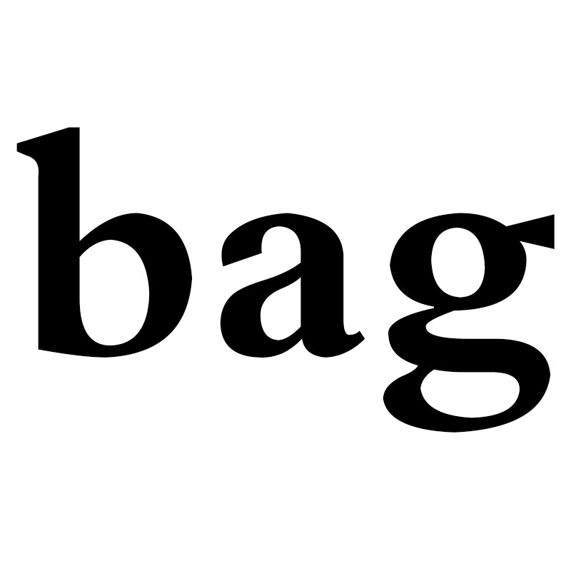 Bags please place an order here
