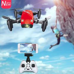 AEOFUN S9HW мини Drone с Камера HD S9 без Камера складной RC горючего высоты вертолета Wi-Fi FPV карманный микро-Дрон