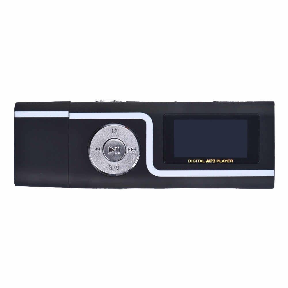 Miễn Phí Vận Chuyển Hifi Di Động USB MP3 Nghe Nhạc Kỹ Thuật Số Màn Hình LCD Hỗ Trợ Thẻ TF 16GB Trang Sức Giọt