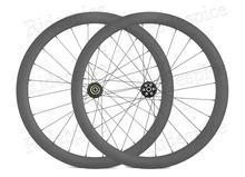 700c disco freio de carbono rodas 44mm profundo 28mm de largura da bicicleta estrada clincher tubular sem câmara rodas carbono para cyclocross