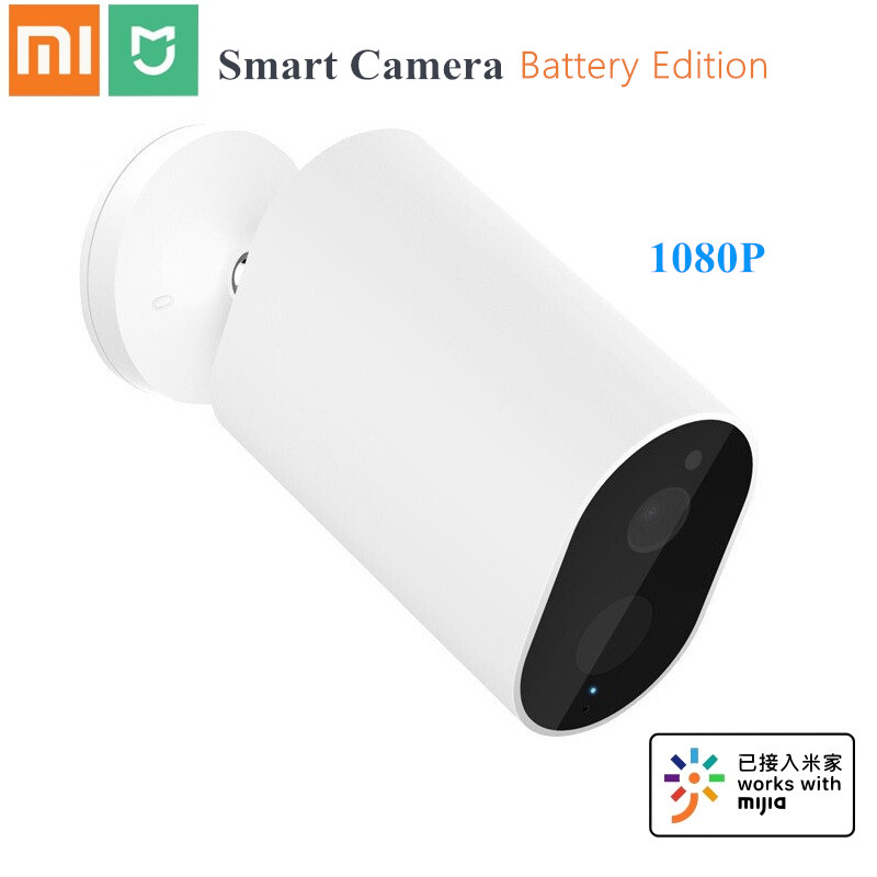 Xiaomi Mijia caméra IP intelligente passerelle 1080P 5100mAh batterie AI humanoïde détection APP contrôle IP65 caméra intelligente sans fil extérieure