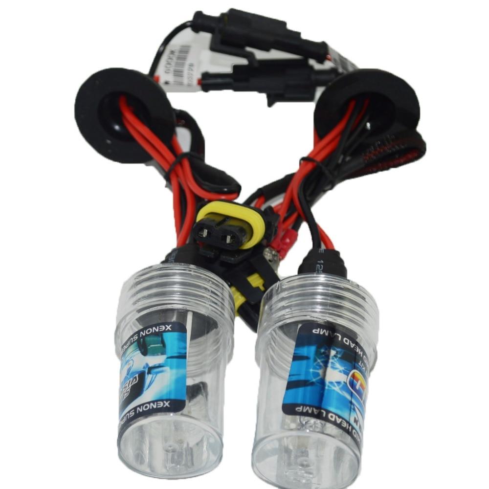 2x AC 12V 55w xenon HID Replacement Headlight Bulbs light lamp H1 H3 H4 H7 H11 9005 9006 6000K White HID conversion kit