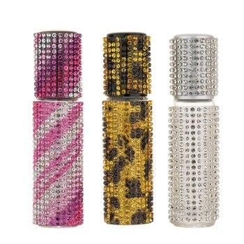 MUB - 5ml/10ml Refillable Portable Mini Perfume Bottle Spray Atomizer Empty Parfum With Diamond
