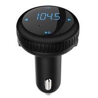 Universal Inalámbrico Bluetooth Kit de Coche Reproductor de MP3 FM Del Modulador Del Transmisor del LCD w/Remoto Dual USB de Detección de Tensión
