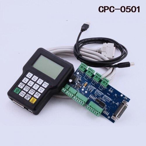 Livraison gratuite DSP0501 DSP 0501 contrôleur à main 3 axes version anglaise pour routeur de CNC/graveur de CNC version anglaise et manuel