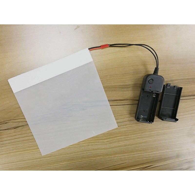 5.9X5.9/15x15cm Smart PDLC Smart Tint Window Film Power Window Electrochromic Film Switchable Glass Vinyl