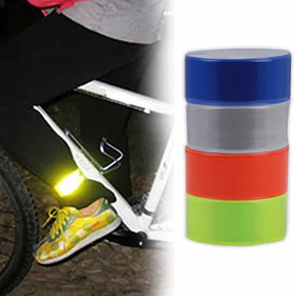 Analytical High Elastic Silicon 2pcs Bicycle Reflective Safe Leg Pants Clip Practical Strap Beam Band Bottom Belt Night Riding Protable Back To Search Resultssports & Entertainment