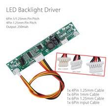 "19/21.5/22 ""XQY10L17 V9 אוניברסלי מהפך תאורה אחורית LED נהג 3WLED קבוע הנוכחי לוח LED רצועת בודק עבור 4Pin 1.25mm/1mm"