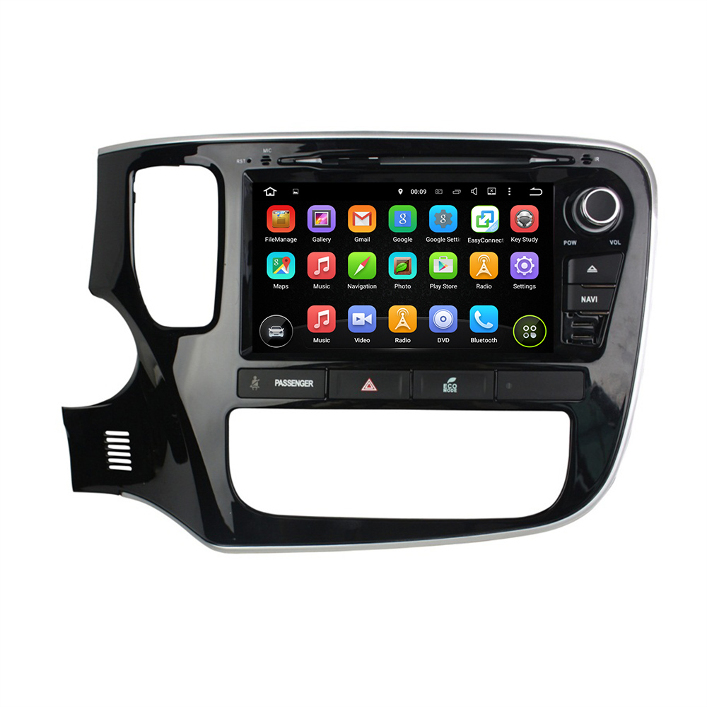 "KLYDE 8"" 2 Din 8 Core Android 8.0 For MITSUBISHI Outlander 2015 Car Radio 2+16GB 4+32GB 4+64GB Multimedia Audio Stereo 1024*600"