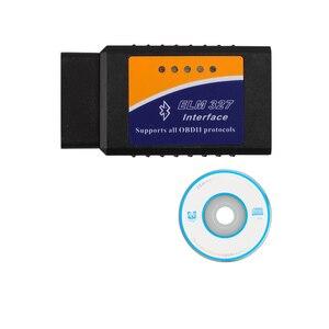 Image 5 - ELM327 ULME 327 Bluetooth Software OBD2 KÖNNEN BUS Scanner Tool Software V2.1