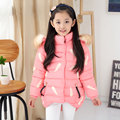 Children Parka 2017 New Girls Parka Coats Warm Cotton Down Girl Winter Coat Kids Clothes Baby Girls Jackets