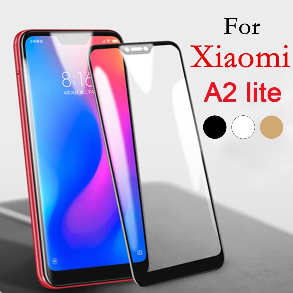 Tempered Glas On The For Xiaomi Mi A2 Lite Screen Protector Ksiomi Xiomi Mi Me A2 Lite Light Mia Mi2 Mia2 A2Lite Film Full Cover