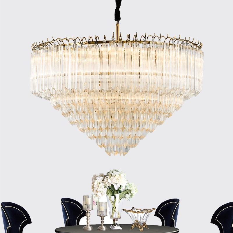 Crystal Chandelier For Palace High Ceiling