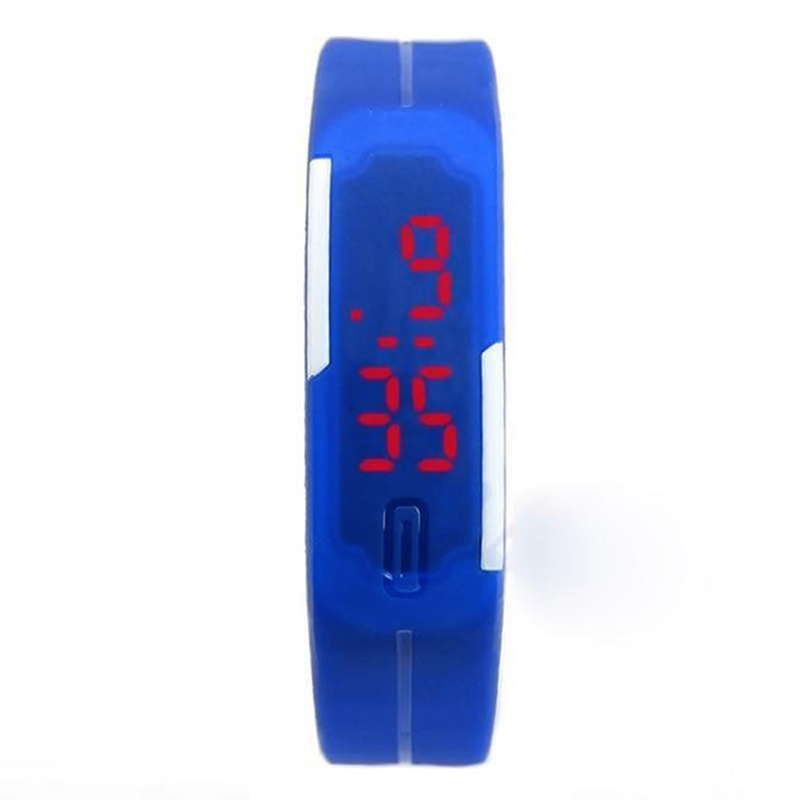 2017 Candy Color kids Watches Bracelet LED Watch Digital Sports Clock Boys and Girls Wristwatches relogio