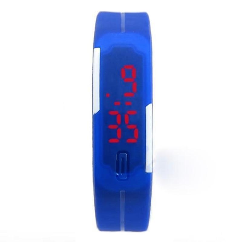 2019 LED Digital Watch Electronic Wrist Watches Men Women Kids Sport Watch Creative Calendar Colorful Rubber Smart Montre Femme