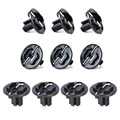 New 10pcs Headlight Fastener Clip 1248210520 for Mercedes Benz W124 300CE E420 E320 E300 260E 300E 400E 500E 300D 1987~1994 1995