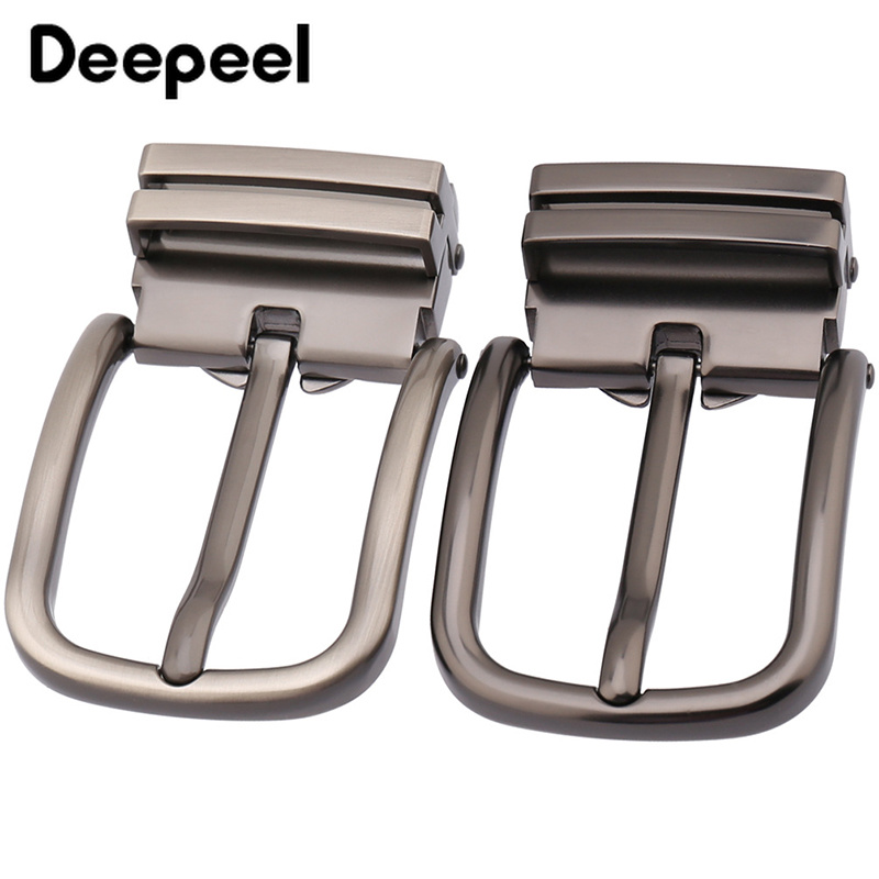 Deepeel Fashion Business Men Belt Buckels For Metal Belt Pin Buckle For Belt 33-34mm DIY Leather Craft Jeans Accessories KY941