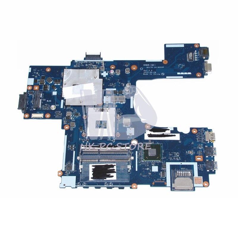 QCL70 LA-8222P Laptop Motherboard For Asus R700VJ K75V K75VJ K75VM Main Board DDR3 GeForce GT630M