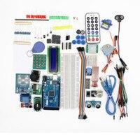 DIY Electronic Started Kit Mega2560 Mega 2560 R3 For Arduino Breadboard DHT11 Temperature Pir Sensor Potentiometer LCD Display
