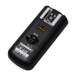 Image 2 - YONGNUO RF602 RF 602 2.4GHz Flash Wireless Receiver for Canon Nikon DSLR Camea