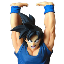 Dragon Ball Z Son Goku/Super Saiyan Goku Genki dama pirit Bomb Action figures Collection Model anime toys цена