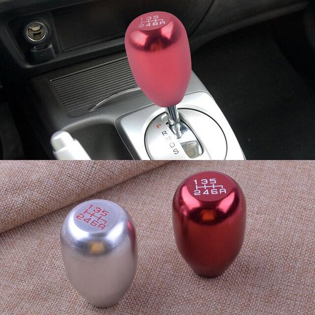 citall 6 speed aluminum alloy car manual gear stick shift knob for acura  rsx honda civic si s2000 2002 - 2006 2007 2008 2009