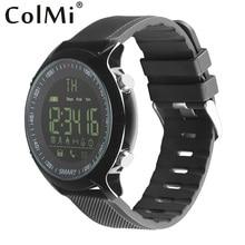 Продажа Colmi профессиональные спортивные часы в реальном времени спортивные Запись секундомер вызова уведомлением sms-сообщением 5atm Водонепроницаемый для Android IOS Телефон