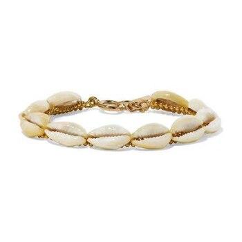 0c04c38d3514 Boho conchas Cowry Shell pulseras para las mujeres conchas pulsera Bohemia  joyería de playa armbanden coquillage pulsera conchas bileklik