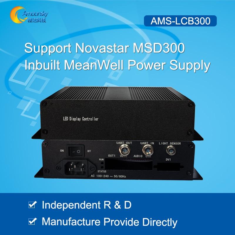 Independent R&D LED External Sending Box Support Novastar MSD300 Sending Card Like Novastar Mctrl300 Controller Best Selling цена и фото