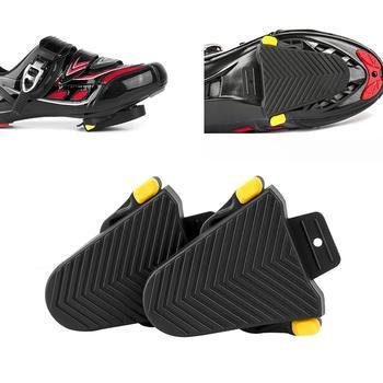 1 par bicicleta Pedal protección goma cornamusa para Shimano SPD-SL tacos