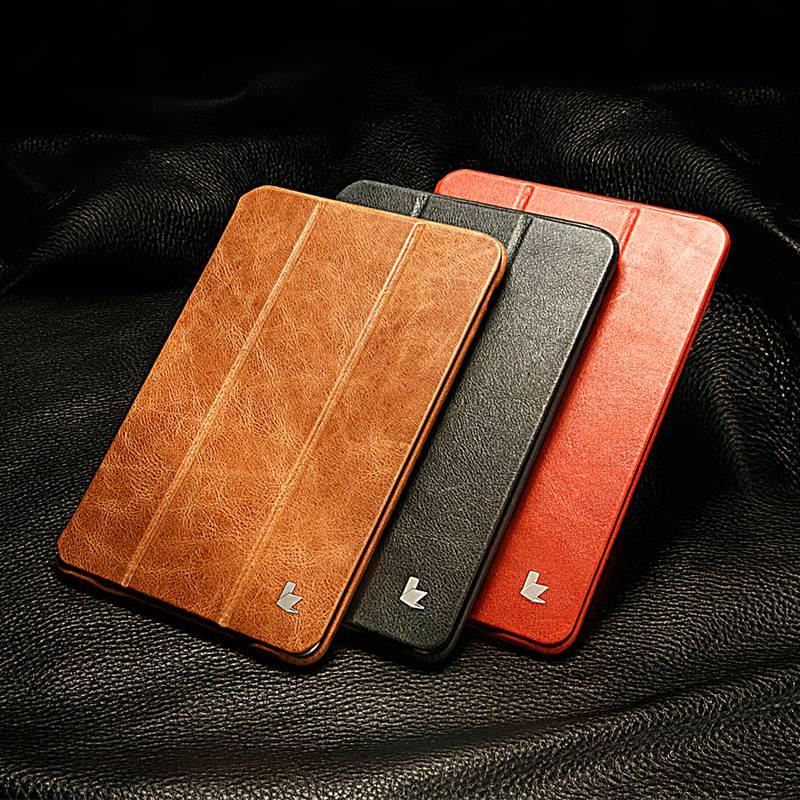Jisoncase Luxury Ehtne nahast kaitseümbris iPad mini 2 3 jaoks Thin - Tahvelarvutite tarvikud - Foto 6