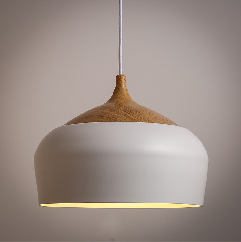 Modern Nordic wood pendant light modern simple light with Edison bulbs dinning room study room lamp 110v 220v free shipping elegant design wrought iron simple modern pendant lamp with led bulb dinning room light cafe lamp e27 110v 220v free shipping