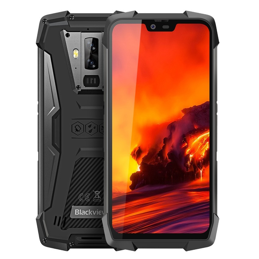 Blackview BV9700 Pro IP68/IP69K 6 GB RAM 128 GB ROM téléphone portable robuste Helio P70 Octa core téléphones 5.84