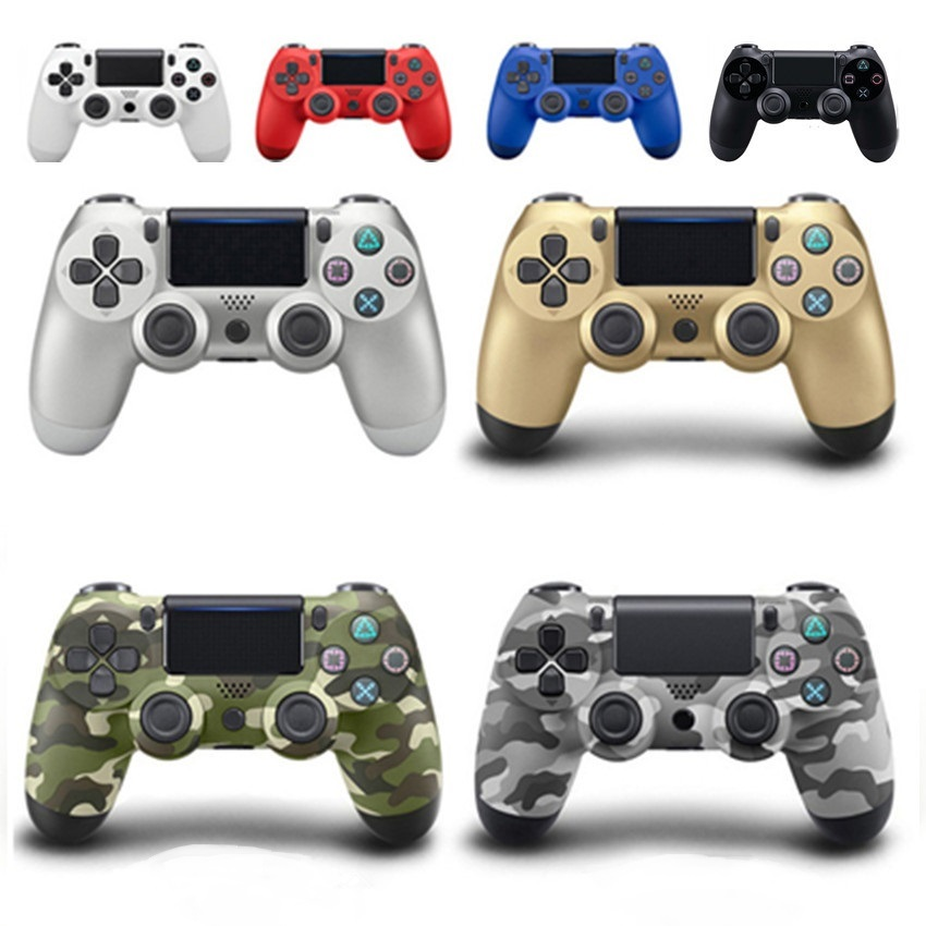 Bluetooth Wireless Gamepad Controller For PS4 Sony PlayStation 4 Game Controller Joystick Gamepads Console Multiple Vibration