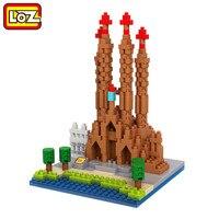 LOZ World Famous Architecture Nanoblock Basilica I Temple Expiatori De La Sagrada FamIlia Barcelona Spain City