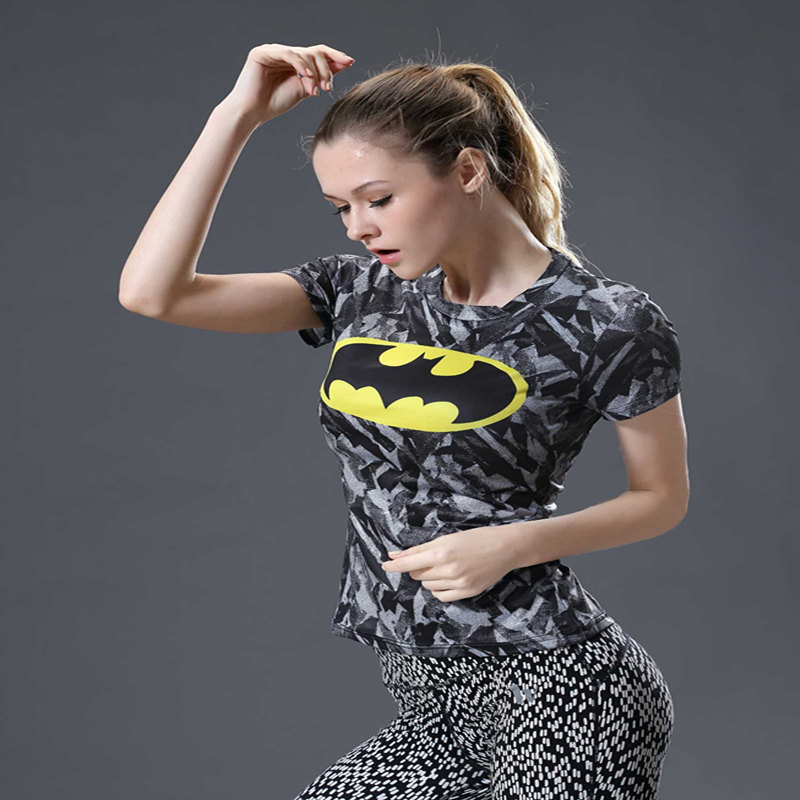 Compression Shirt ZOOM Flash 3D Printed Ladies T Shirt Women Raglan Short Sleeve Cosplay Costume Fitness Tops Female Clothes