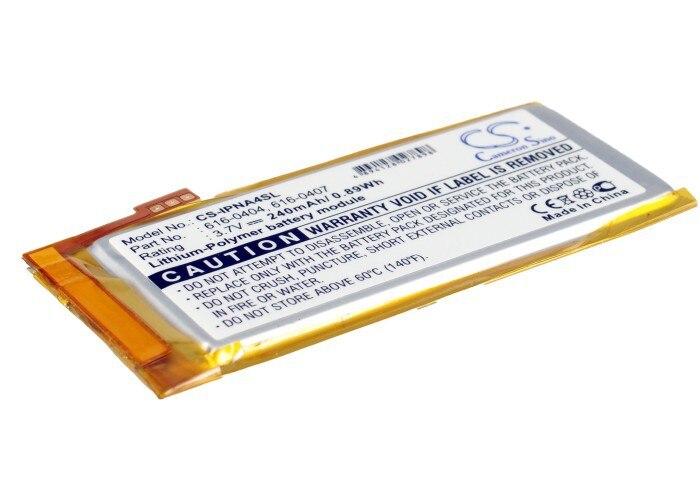 MP3 MP4 PMP Battery For APPLE iPod Nano 4th 16GB 4GB 8GB MB903LL A 616 0405