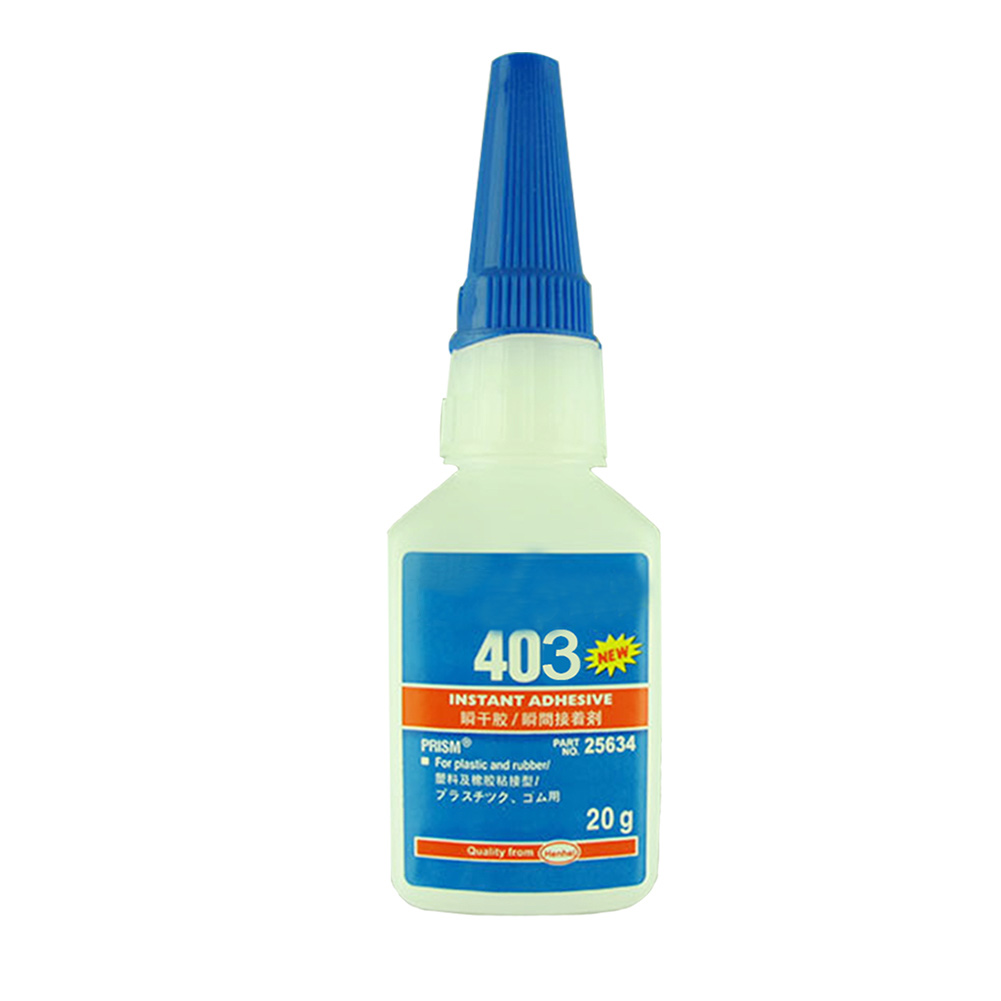Instant Adhesive 20g Super Glue For Plastic/Wood Liquid Glue Bottle Strong For Office/School Quick-drying 406/480/403/495