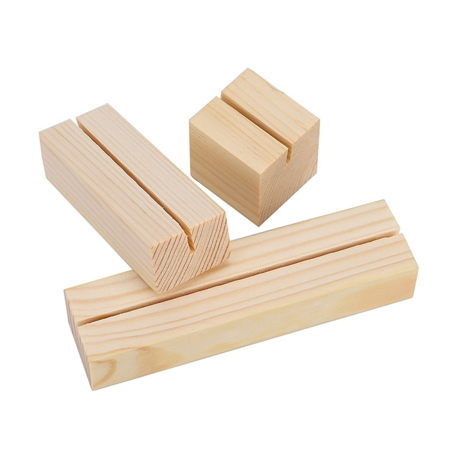 Natural Wood Memo/Photo Holder