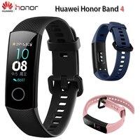 10PCS Huawei Honor Band 4 Standard Version Smart Wristband Touch screen Swim Posture Heart Rate Fitness Bracelet wholesale