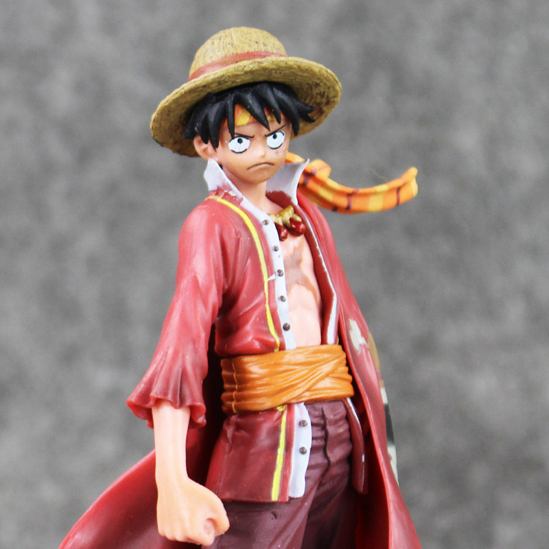 Anime One Piece Monkey D Luffy The Ultimate King Ver Red
