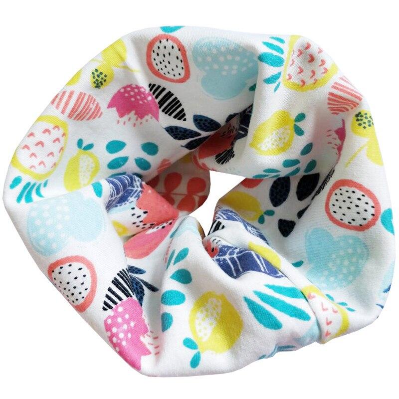 Новинка; Модный хлопковый шарф для маленьких девочек; осенне-зимний шарф для маленьких мальчиков; Детский шарф с круглым вырезом; Детские шарфы; волшебный шейный платок - Цвет: Leaves
