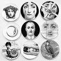 wholesale 2016 fashion style Italy designer Fornasetti Decorative hanging Plates Vasos can be found in my shop for home dector