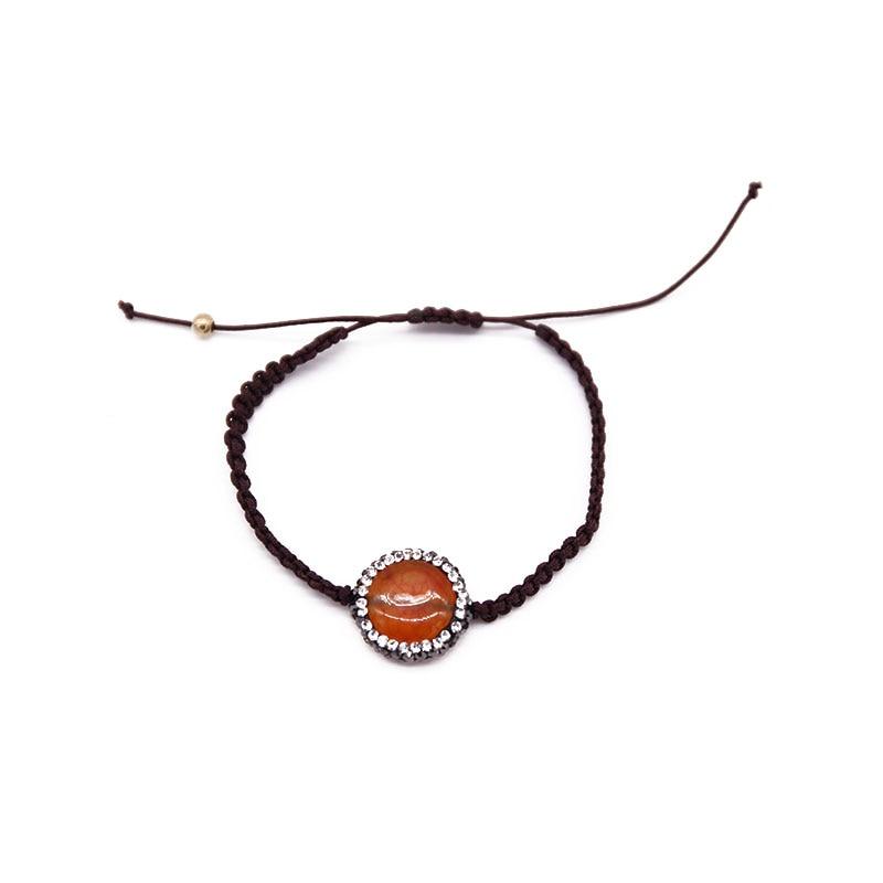Dongmu jewellery 2017 new simple fashion natural stone ladies bracelet bohemian fine fashion classic jewelry Christmas gifts