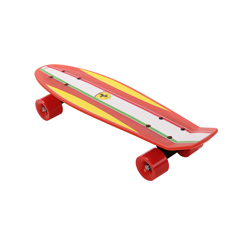 все цены на Fish Skateboard Skateboarding Four-wheel Street Banana Long Mini Cruiser Fish Skate Board for Children