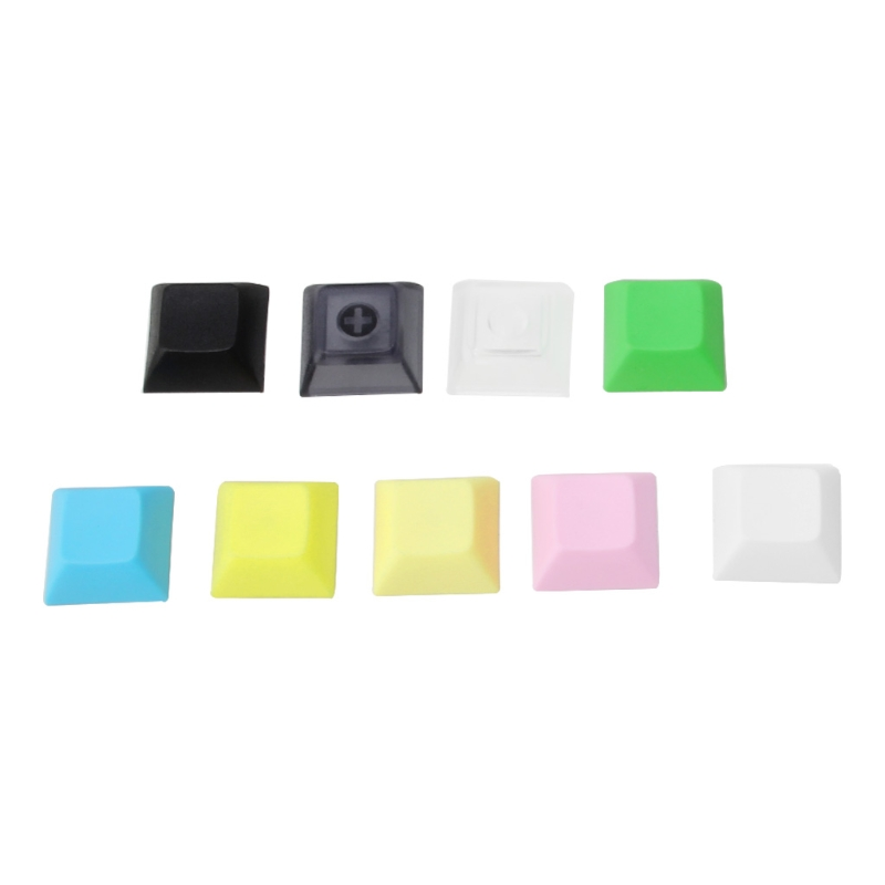 PBT Keycaps DSA 1u Blank Printed Keycaps For Gaming Mechanical Keyboard 20pcs